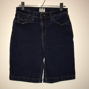 Levi's 512 High Rise Mom Bermuda Shorts 10
